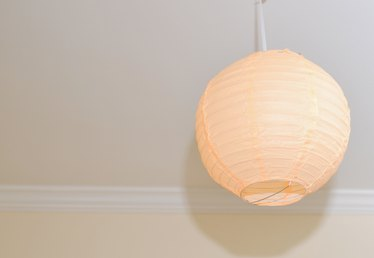 How to Hang Paper Lanterns From the Ceiling