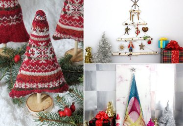 Rethink Your Holiday Decor With These 5 Untraditional Christmas Trees