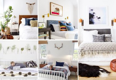 5 Instagram-Inspired Ideas for What to Hang Above a Headboard