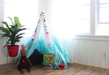 How to Make a Fabric Canopy