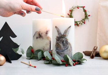 Unique Candle Craft Tutorial (Using Photos!)