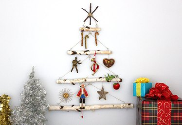 Birch Branch Christmas Tree Tutorial