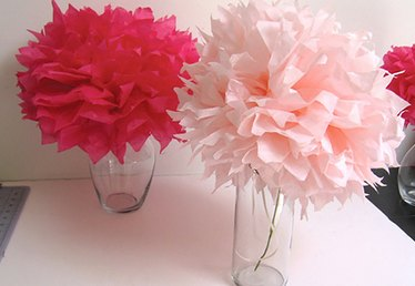 How to Fold a Tissue Paper Flower