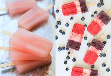 How to Make Fruit Juice Ice Pops