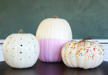 Three Cute and Easy Ways to Decorate Pumpkins