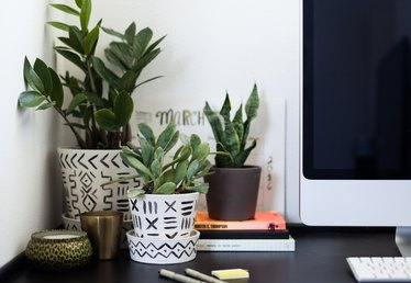 Liven Up Your Desk With This Easy DIY