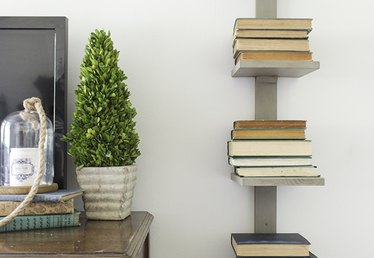 How to Make a Vertical Bookshelf