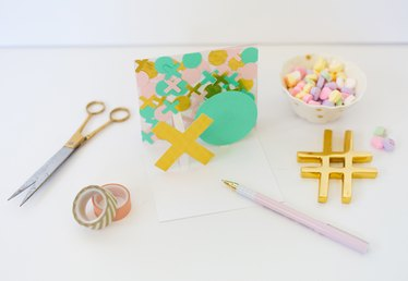 DIY Modern Pop-Up Valentine Cards