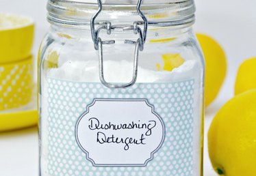 Homemade Powdered Dishwashing Detergent Recipe