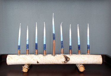 How to Make a Birch Branch Menorah