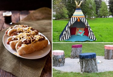 How to Have a Campout This Weekend (In Your Own Backyard)