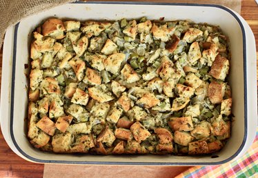Mom's Classic Make-Ahead Bread Stuffing Recipe