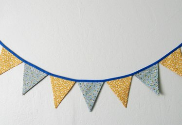 Easy DIY on How to Sew a Flag Bunting
