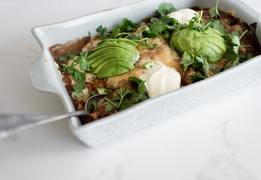Enchilada Tray Bake Recipe