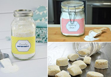 Homemade Products to Freshen Up Laundry