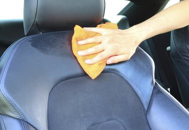 How to Remove Water Stains From Car Seats