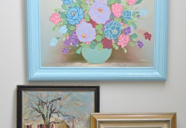 How to Upcycle Thrift Store Artwork
