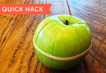 Quick Hacks: Keep Your Apple Slices From Getting Brown