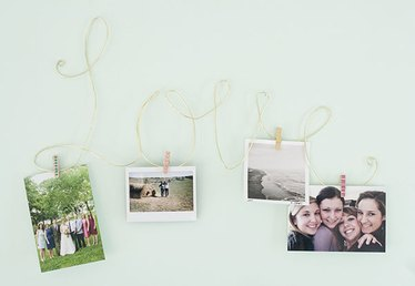Celebrate Mom's Favorite Memories with a Wire Photo Display