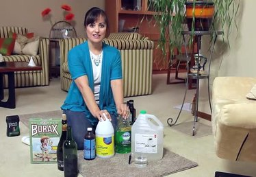 Cleaning Carpet With Homemade Products