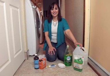 Home Remedy for Cleaning Floor Grout