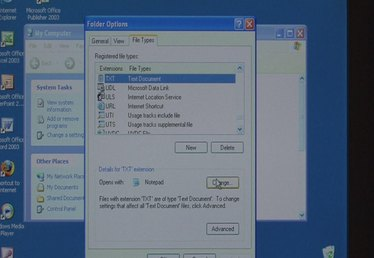 How to Change File Type Associations in Windows XP
