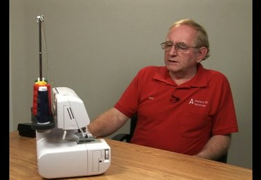 How to Thread the Upper Looper on a Serger Sewing Machine