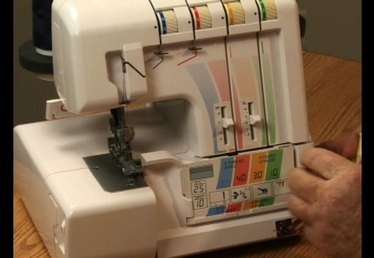 How to Thread the Lower Looper of the Serger Sewing Machine