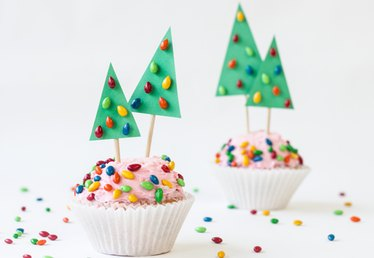 Christmas Tree Cupcake Toppers