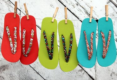 The Beauty of Bias Tape Part 4: Summer Flip Flops