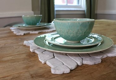 How to Turn Flooring into Modern Place Mats