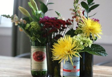 How to Cut Glass Bottles into Modern Vases