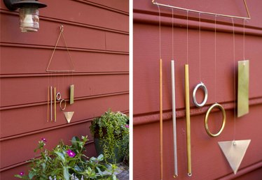 Enjoy Blustery Fall Afternoons with a DIY Modern Wind Chime