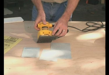 How to Load Sandpaper into an Electric Sander