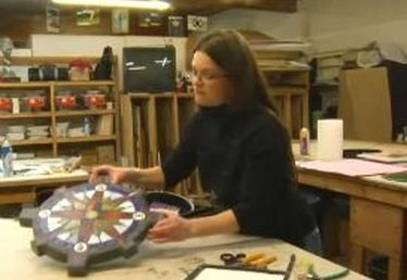 How to Create Stained-Glass Stepping Stones