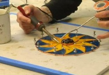 How to Solder Stained Glass Joints