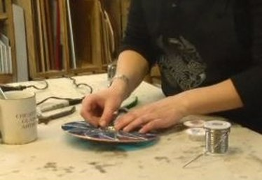 How to Add a Hook to Stained Glass