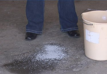 How to Remove Oil & Grease From Concrete