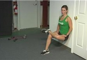 Figure 4 Wall Sit Exercises