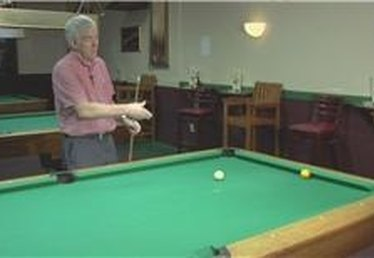 Billiards: Using English to Make a Ball on the Rail
