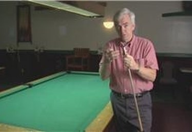 How to Chalk a Cue