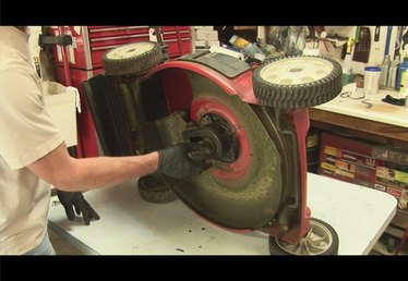 How to Replace the Drive Belt on a Rear-Drive Lawn Mower