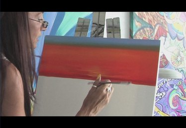 How to Paint a Sunset With Acrylic Paint