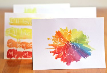 Easy Watercolor Cards