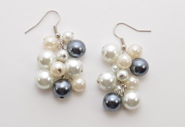 An Edgy Take on a Classic: DIY Pearl Cluster Earrings