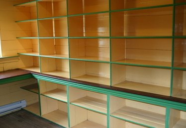 How to Cover Shelves Without Doors