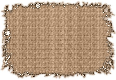 How to Attach Burlap to Walls