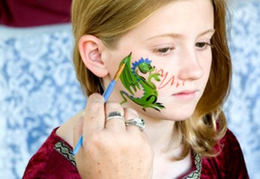 Cow Face Painting Ideas