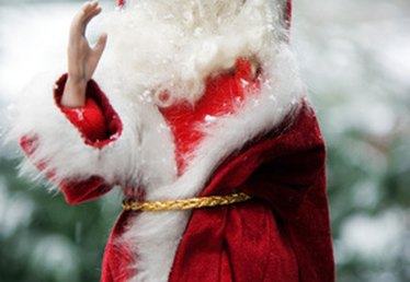 How to Keep Santa's Beard & Wig on Without Coming Off