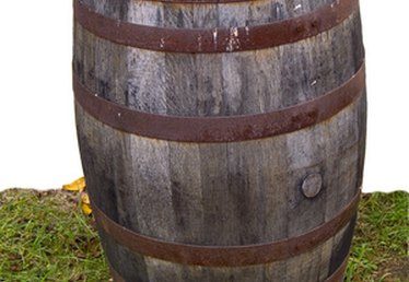How to Rebuild a Half Whiskey Barrel